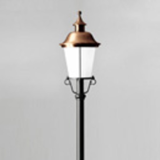 Pole-top luminaire B1948/B1955 by BOOM | Path lights