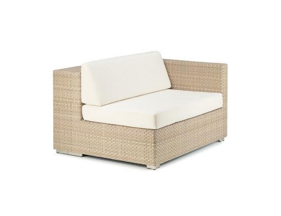 Lounge Module gauche de DEDON | Fauteuils de jardin