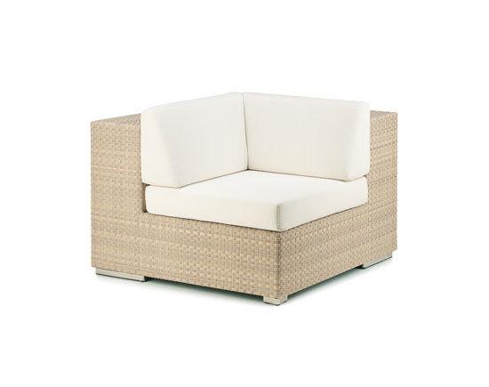 Lounge Corner module by DEDON   Garden armchairs