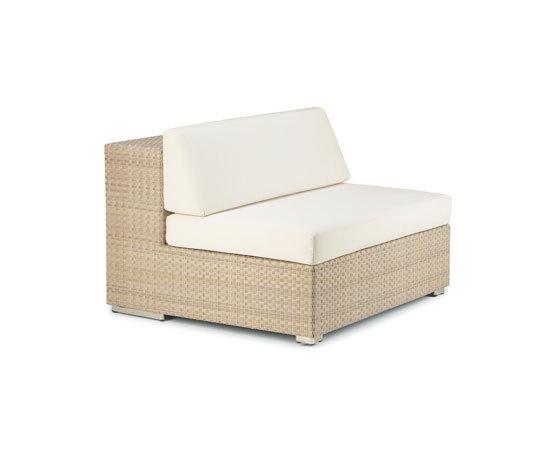 Lounge Module central XXL de DEDON | Fauteuils de jardin