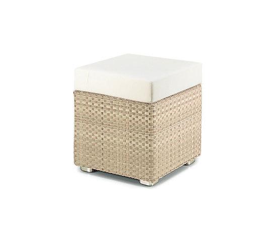 Lounge Mesa auxiliar de DEDON | Taburetes de jardín