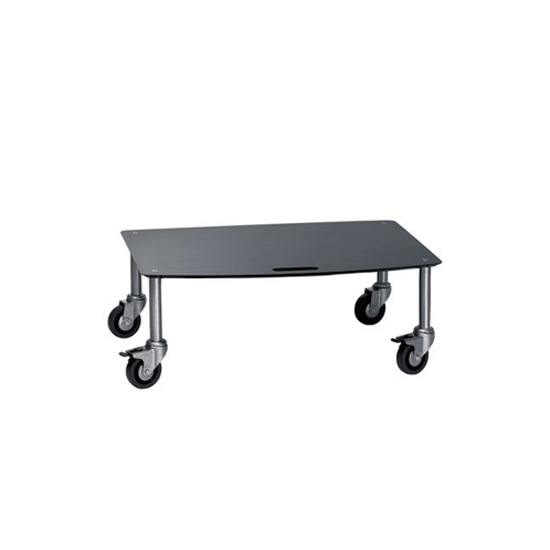 Base TV-Trolley with 1 shelf by Cascando | Multimedia trolleys
