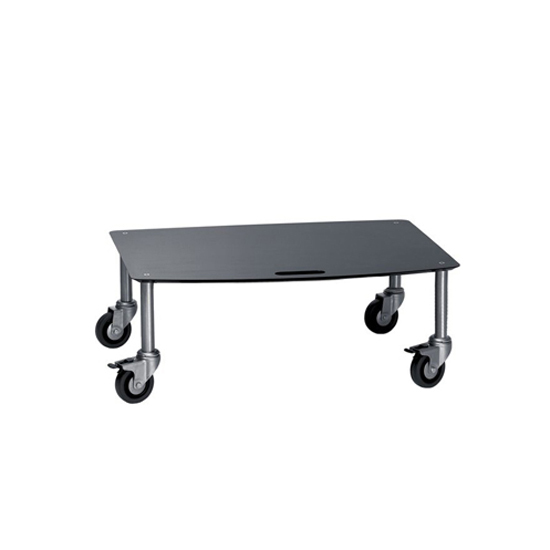 BigBase TV-Trolley with 1 shelf by Cascando | AV trolleys