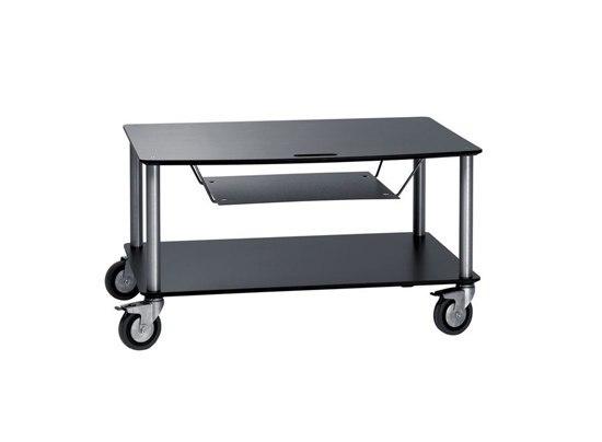 BigBase TV-Trolley with 2 shelfs + DVD t by Cascando | Multimedia trolleys