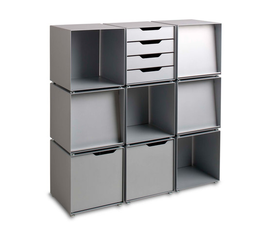 Box01 by Cascando | Office shelving systems