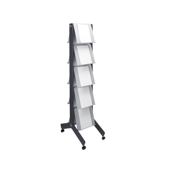 Round 20 Standing brochure holder by Cascando | Brochure / Magazine display stands