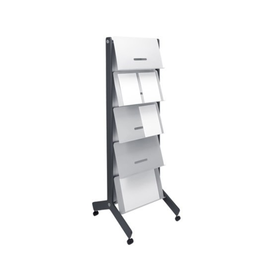 Round 20 Standing brochure holder by Cascando | Display stands