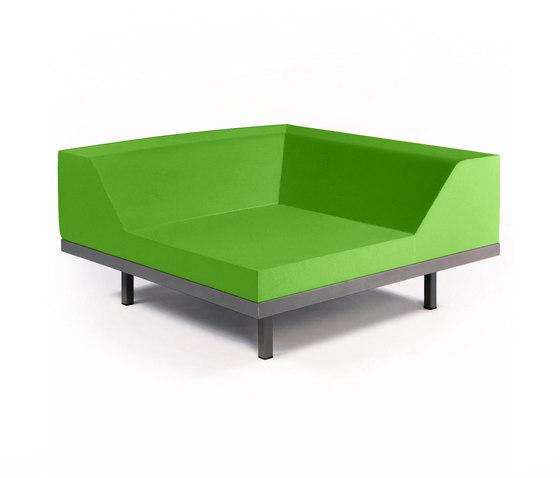 M2 Corner by Quinze & Milan | Modular seating elements