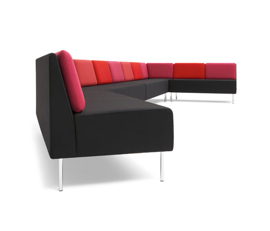 Playback sofa system by OFFECCT | Modular seating systems
