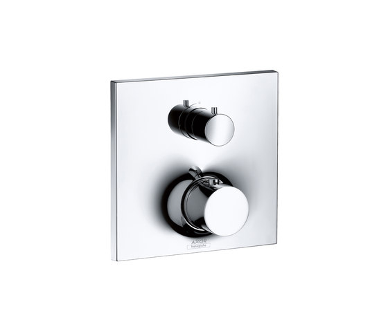 AXOR Massaud Thermostatic Mixer for concealed installation with shut-off valve by AXOR   Shower controls