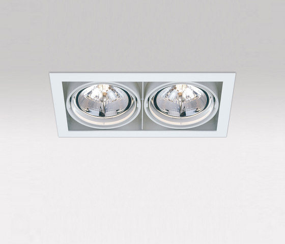 Grid In 2 QR - 202 62 00 02 by Delta Light | Spotlights