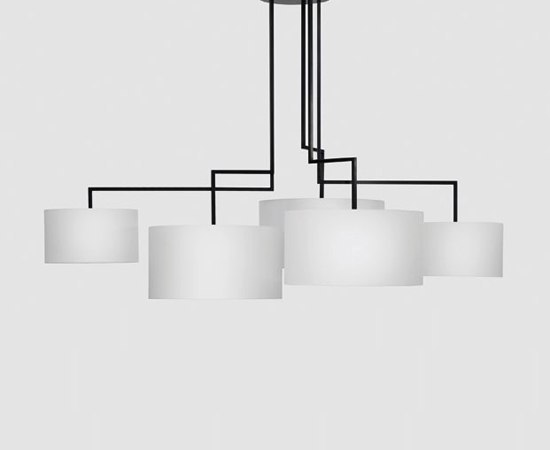 Noon 5 by Zeitraum | Suspended lights