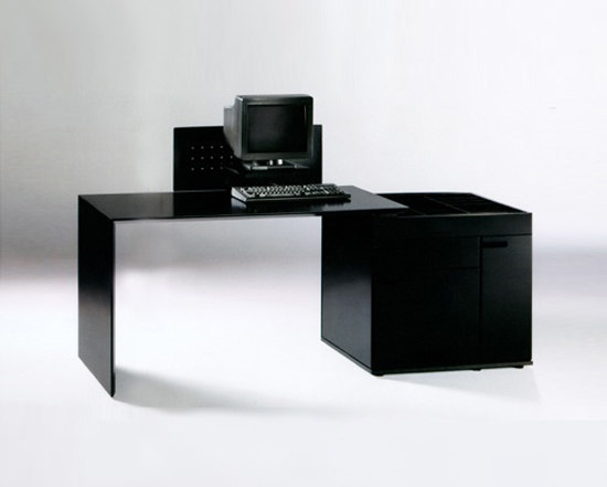 Prisma computer table by PHILIP | Computer desks