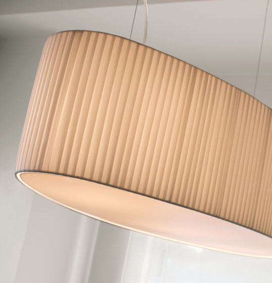 Mei Oval pendant lamp by BOVER | General lighting