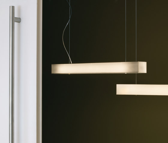 Tekno LP1 pendant lamp by BOVER | Pendant strip lights