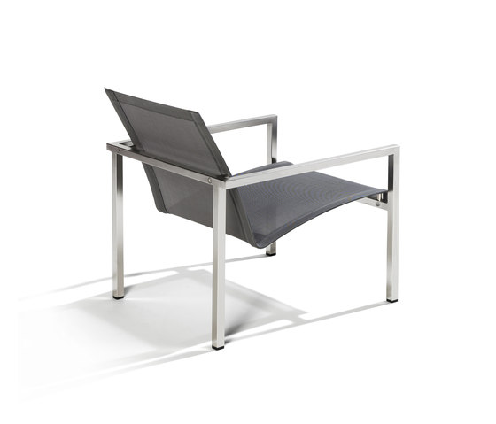 Natal Inox Easy chair by Tribù | Garden armchairs