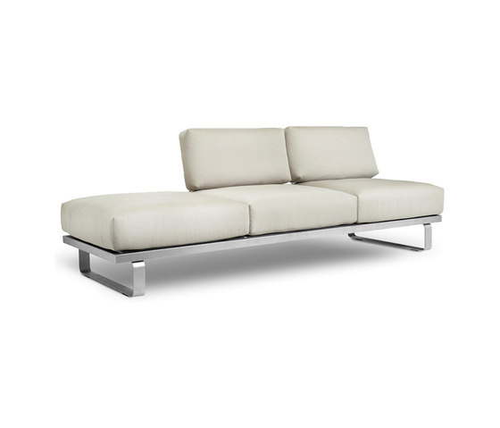 Natal Sofa 3-seater by Tribù | Garden sofas