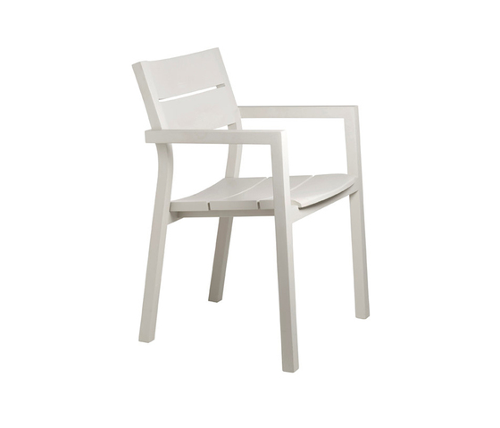 Kos Laquered Armchair by Tribù | Garden chairs