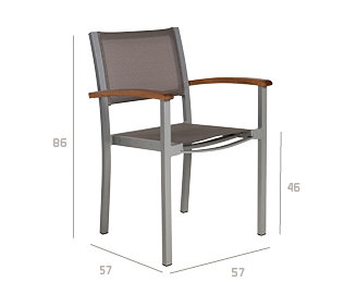 Forum Armchair by Tribu | Garden chairs