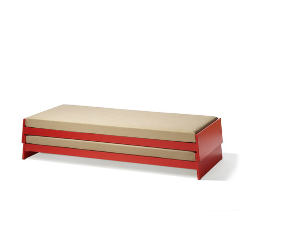 Lönneberga stacking bed by Lampert | Single beds