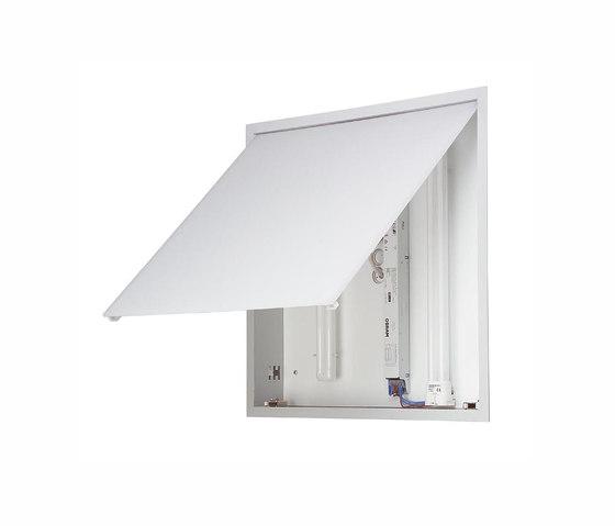 Quadrat eb di Mawa Design | Lampade parete incasso