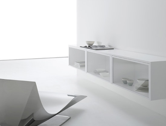 Whitecase by MDF Italia | Display cabinets