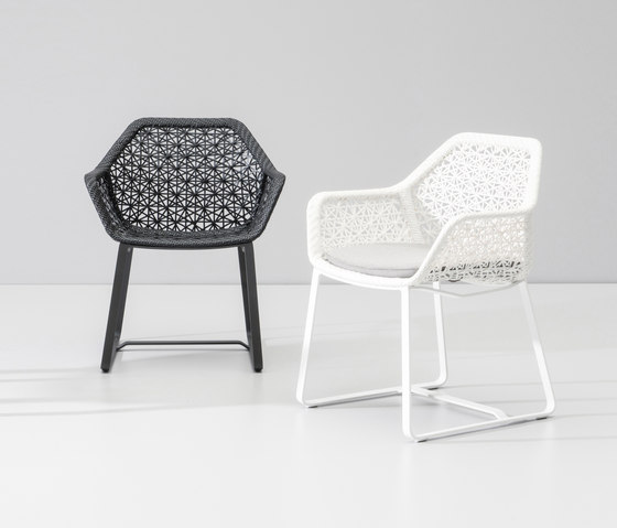 Maia dining armchair by KETTAL | Garden chairs
