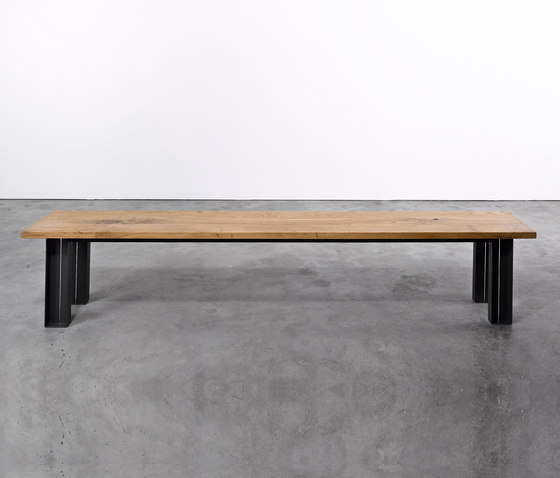 Bench on_09 by Silvio Rohrmoser | Upholstered benches