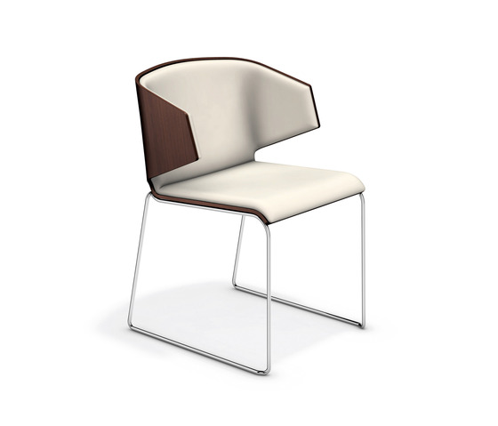Carma I 1111/00 by Casala | Visitors chairs / Side chairs