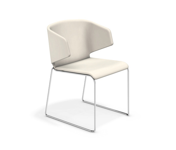 Carma I 1211/00 by Casala | Visitors chairs / Side chairs