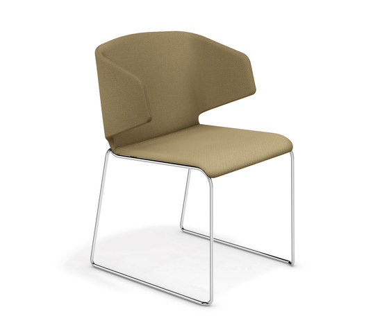 Carma 1211/00 by Casala | Visitors chairs / Side chairs