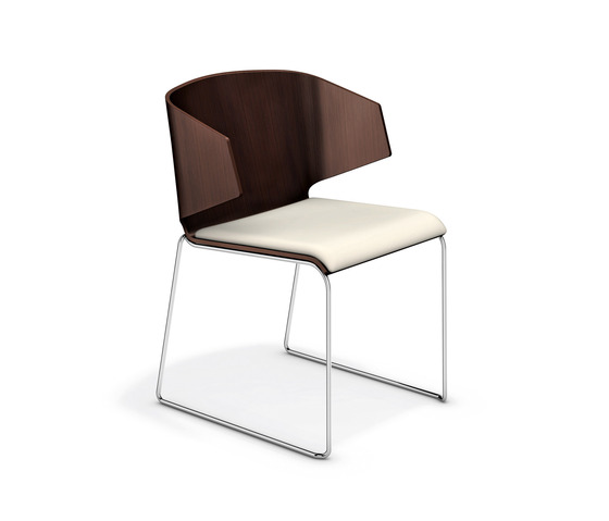 Carma I 2111/00 by Casala | Visitors chairs / Side chairs