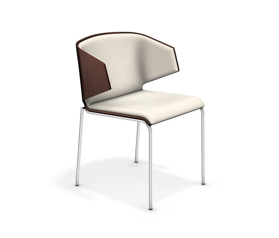 Carma III 1113/00 by Casala | Visitors chairs / Side chairs