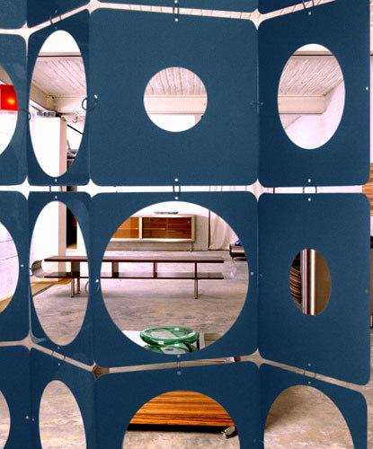Nola Star pattern peephole di Nola Star | Sistemi divisori stanze