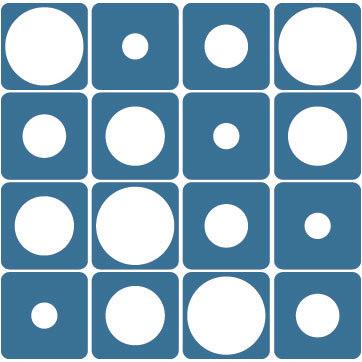 Nola Star pattern peephole von Nola Star | Raumteilsysteme