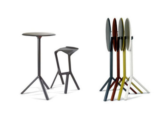 Miura tavolo 9553-71 di Plank | Tavoli bar