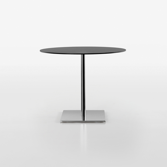 Slim table base 9446-01 by Plank | Cafeteria tables