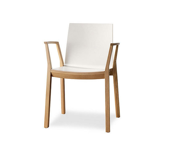 Arta Stacking Chair With Arms By Wiesner Hager | Visitors Chairs / Side  Chairs