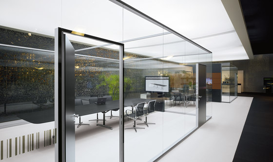 Rf Corridor Wall by Bene   Sound absorbing architectural systems