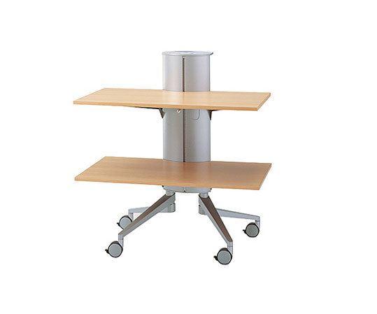 flex-table Media Trolley de Wiesner-Hager | Carritos / mesitas auxiliares