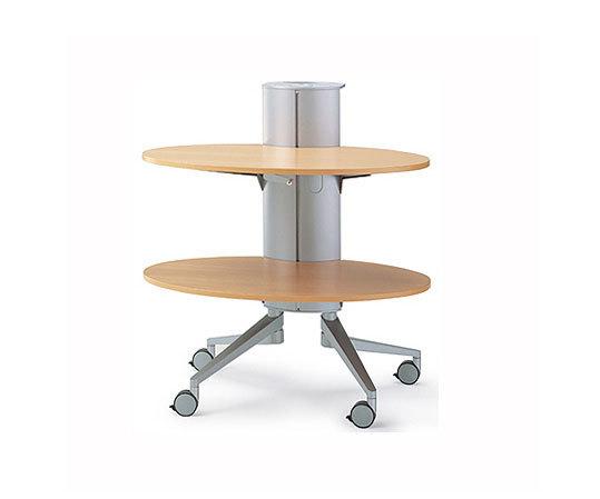 flex-table Medienwagen von Wiesner-Hager | Service Trolleys / Tische