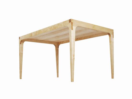 Linoleumtisch by Lutz Hüning | Dining tables