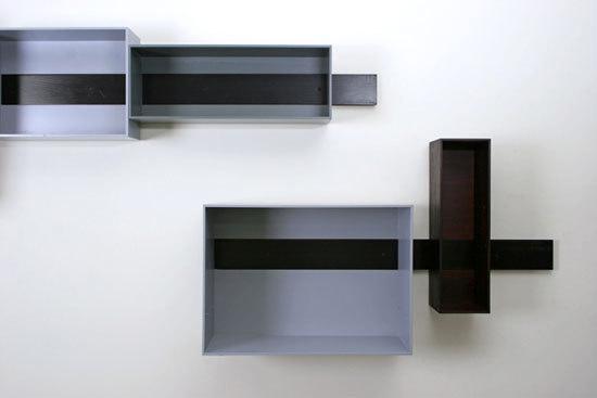 Schieberegal de Lutz Hüning | Estantes / Repisas
