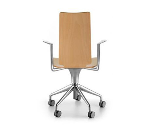 Talle high back swivel chair with armrests by Sellex | Task chairs