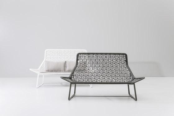 Maia 2 seater sofa by KETTAL | Garden sofas
