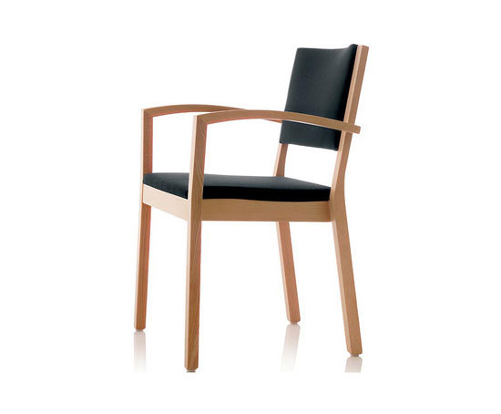 S13 chair with armrests by Wiesner-Hager | Visitors chairs / Side chairs