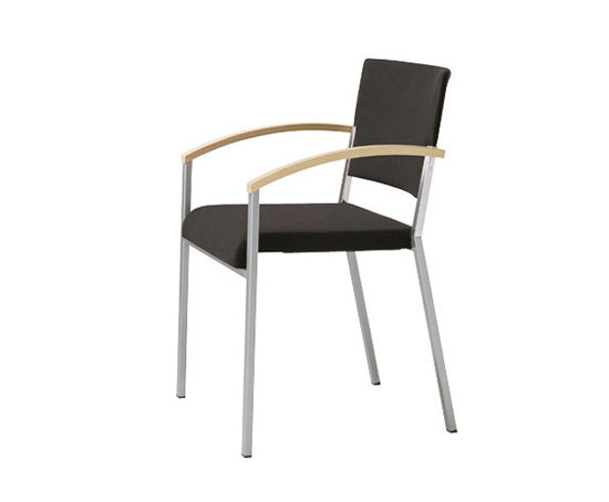 sign chair with armrests by Wiesner-Hager | Visitors chairs / Side chairs