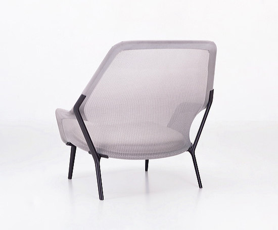 Slow Chair & Ottoman by Vitra | Lounge chairs