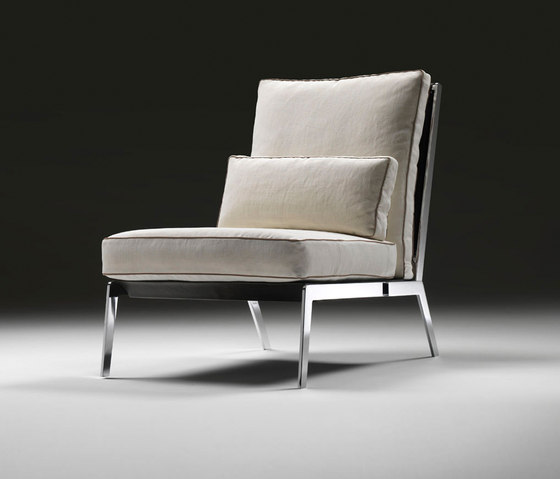 Happy armchair by Flexform | Lounge chairs