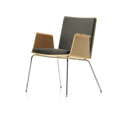 Don 4 legs armchair by Sellex | Visitors chairs / Side chairs
